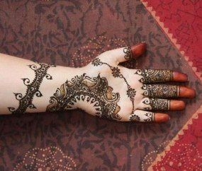 Indian Mehndi Patterns For Hands