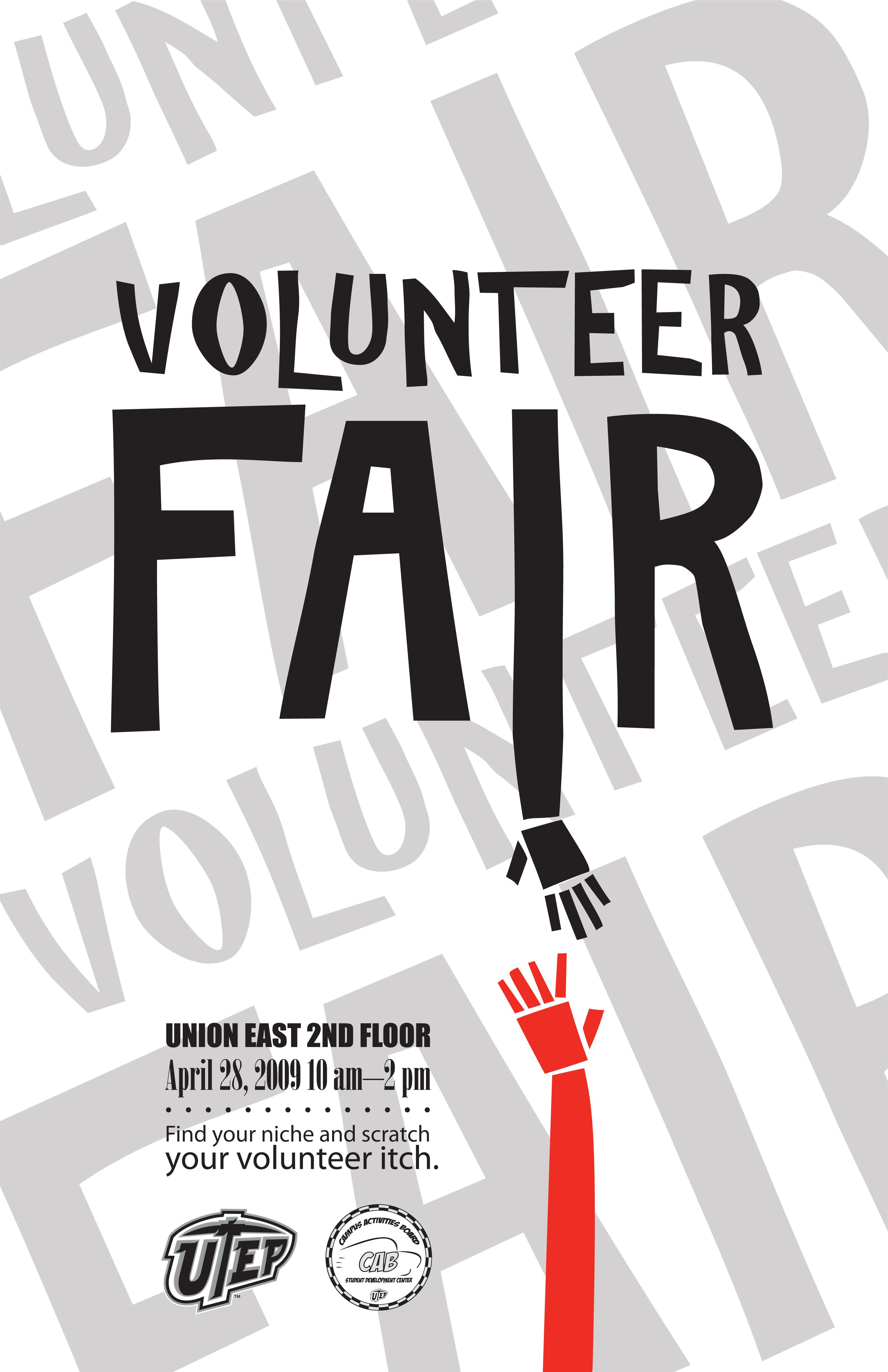 Volunteer Fair  Like A Job Fair But For Volunteer Opportunities