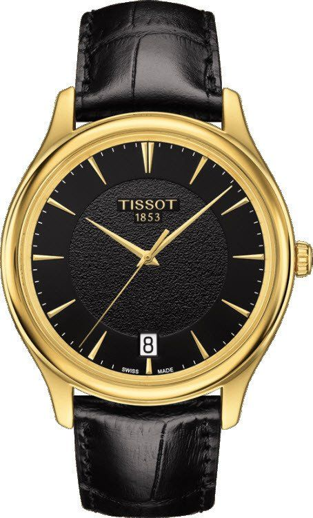 @tissot  Watch Fascination #add-content #basel-16 #bezel-fixed #bracelet-strap-leather #brand-tissot #case-depth-7-5mm #case-material-yellow-gold #case-width-40mm #date-yes #delivery-timescale-1-2-weeks #dial-colour-black #gender-mens #luxury #movement-quartz-battery #new-product-yes #official-stockist-for-tissot-watches #packaging-tissot-watch-packaging #style-dress #subcat-t-gold #supplier-model-no-t9244101605100 #warranty-tissot-official-2-year-guarantee #water-resistant-30m