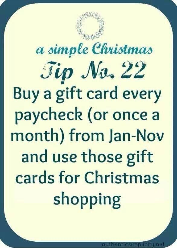 I am so doing this next year!!! Christmas Pinterest Budgeting - simple budget