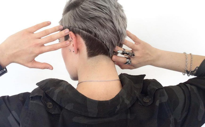 New Hairstyle For Cool Tomboy Tomboy Hairstyles New Hair Undercut Hairstyles Women