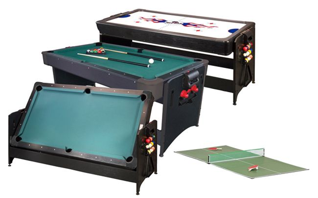 3 In 1 Table Tennis Air Hockey Pool Table All Accessories