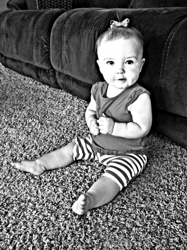 Lily bug 8 1/2 months
