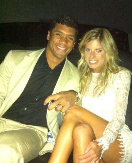 Ashton Meem with ex-husband Russell Wilson
