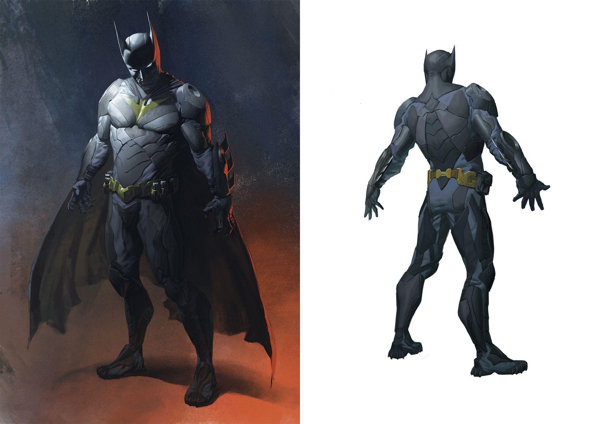 The Art Of Injustice 2 Batman Comic Art Batman Artwork Batman Drawing
