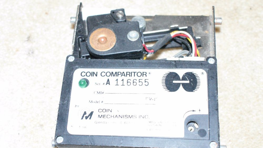 1 CC16D IGT Bally etc Slot Machine coin acceptor mechanism (eBay