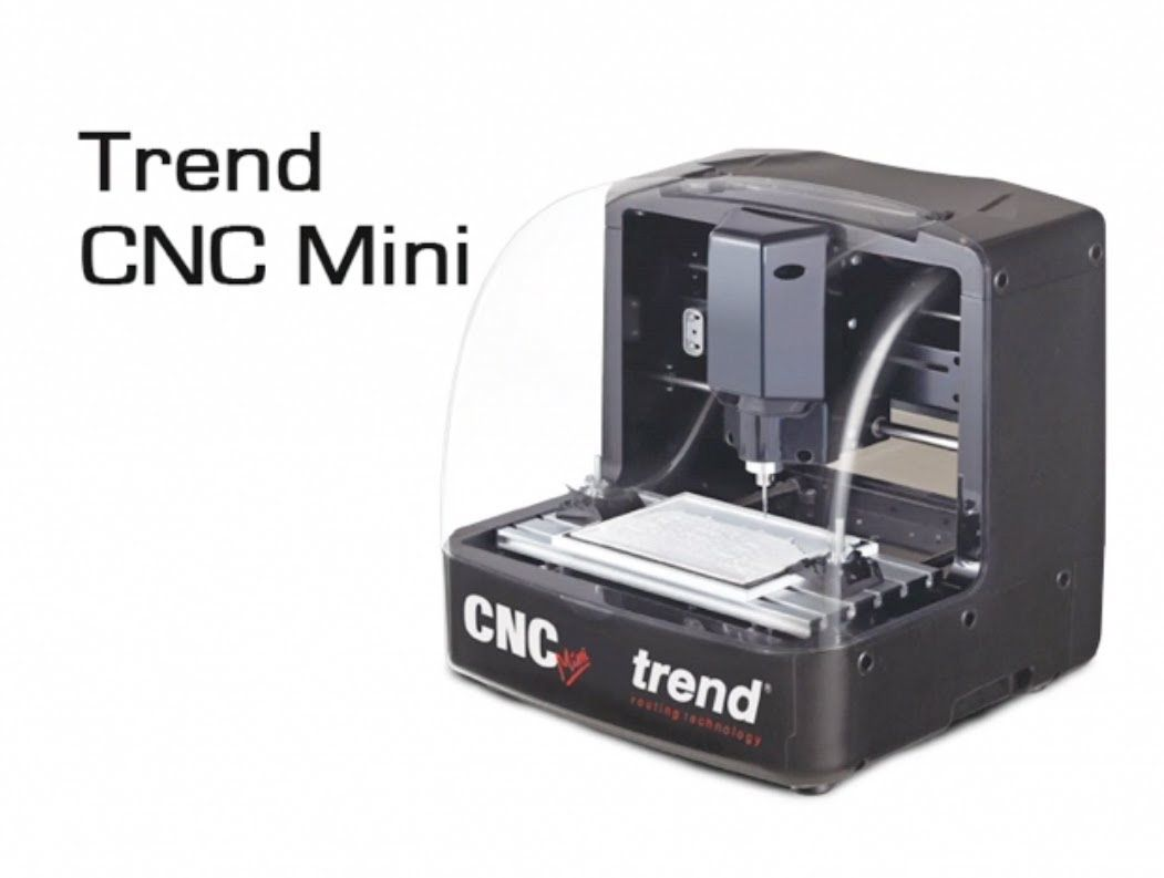 Trend Cnc Mini Overview Of The Machine And Software 3d