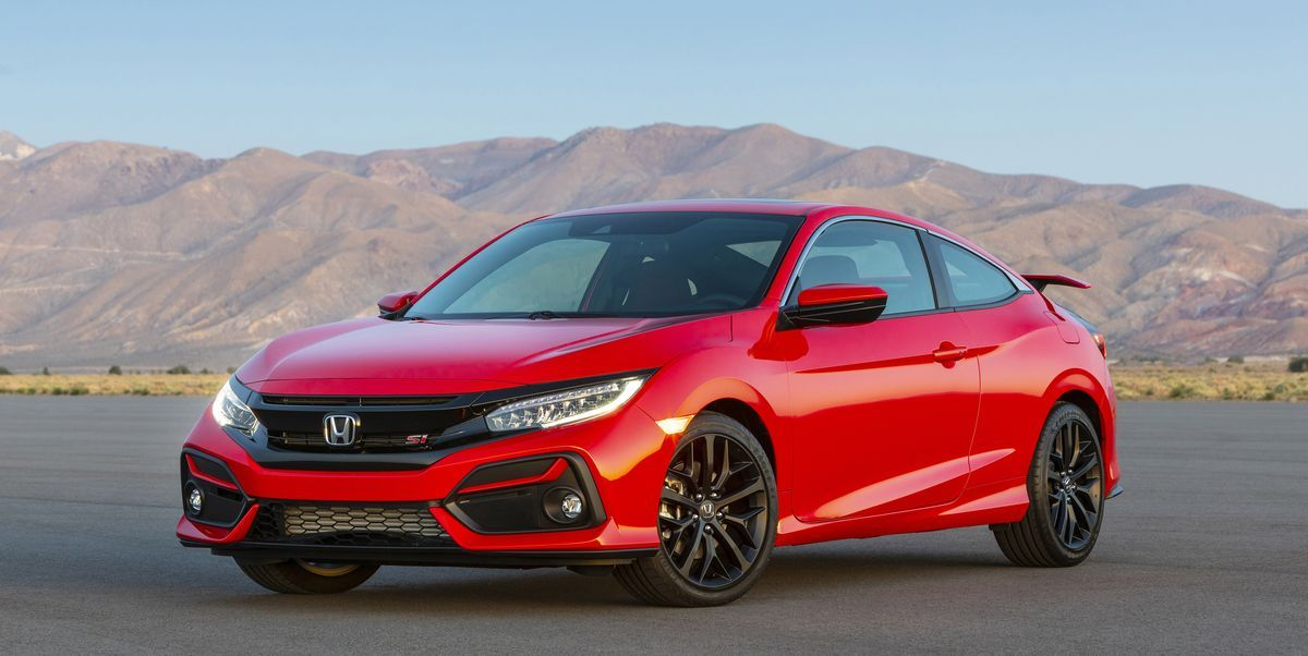 2020 Honda Civic Si Updated With New Features Tweaked Styling Honda Civic Si Honda Civic Si Coupe Honda Civic Hatchback