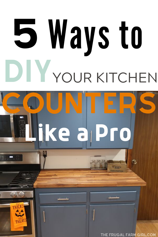 Photo of 5 Ways to DIY Your Kitchen Counters Like a Pro