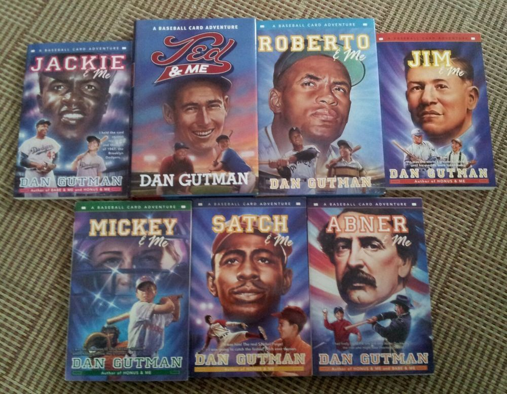 7 Books By Dan Gutman 5 Paperback 2 Hardcover A Baseball Card