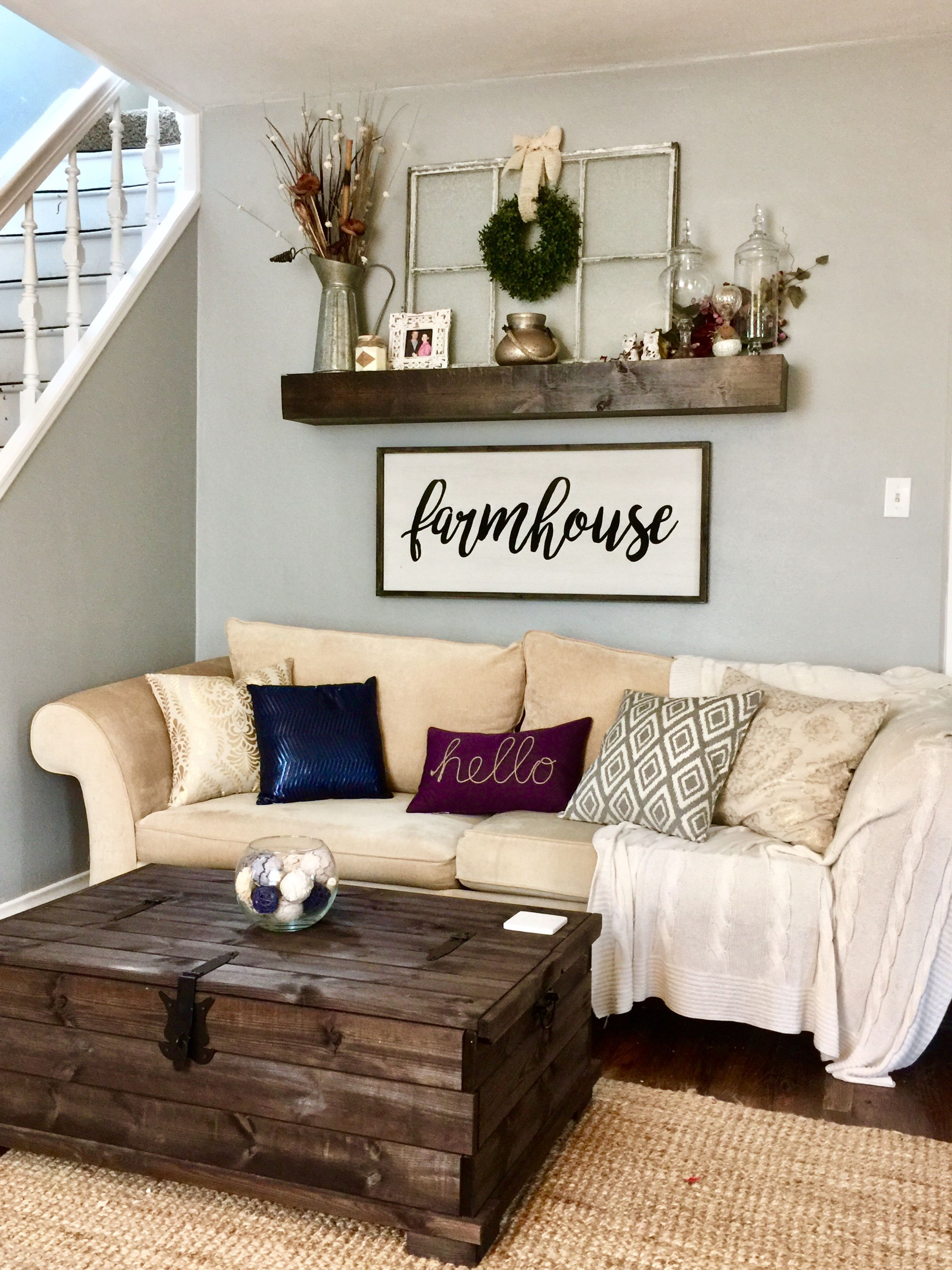 farmhouse living room rustic decor coastallivingrooms