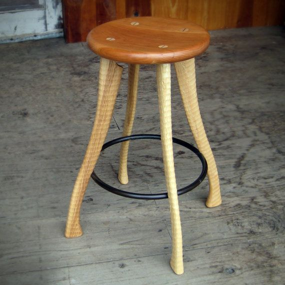 Axe Handle Stool, Bradford Woodworking, Worcester, PA