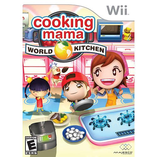 Cooking Mama: World Kitchen For Nintendo Wii