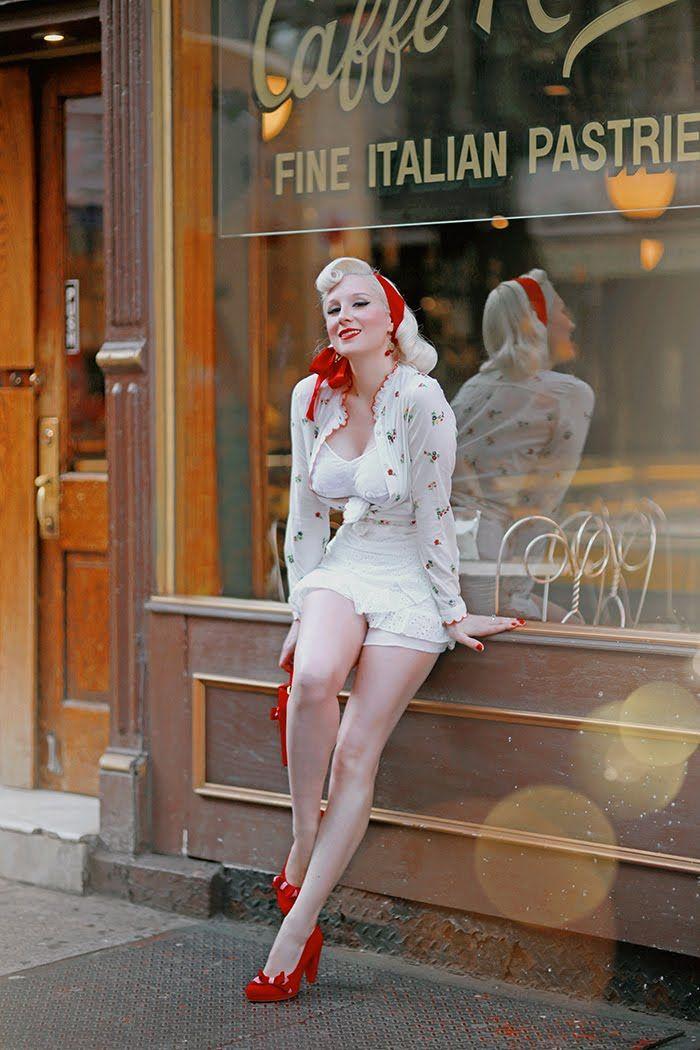 Eleganz im Stil der 50er ...