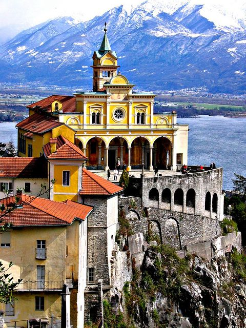 One Of My Favorite Places Locarno Madonna Del Sasso Locarno