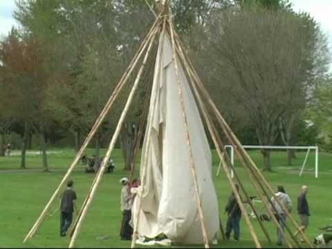 how to put up a teepee back yard native american teepee diy teepee native american decor. Black Bedroom Furniture Sets. Home Design Ideas