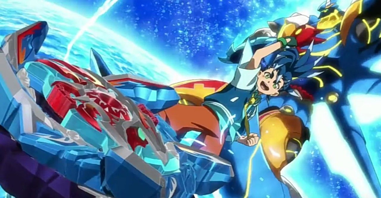 Pictures From The Opening Of Beyblade Burst Sparking Beyblade Burst Beyblade Characters Anime