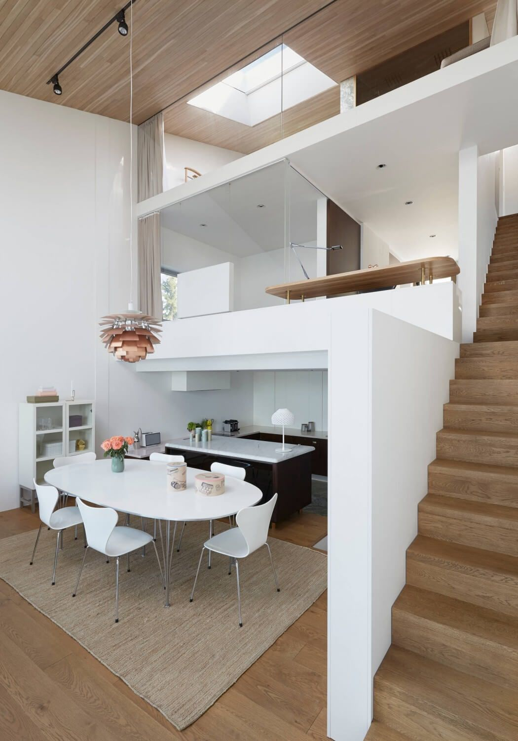 Internal Affairs Interior Designers: Cone House By Trigueiros Architecture