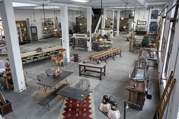 eclectic retail store design a view of the loft style space of philadelphias american