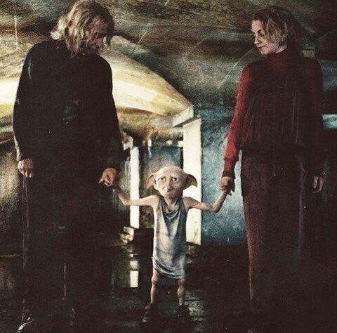 Harry Potter Y Las Reliquias De La Muerte Parte 1 Dobby Al Rescate Harry Potter Reliquias De La Muerte Muerte