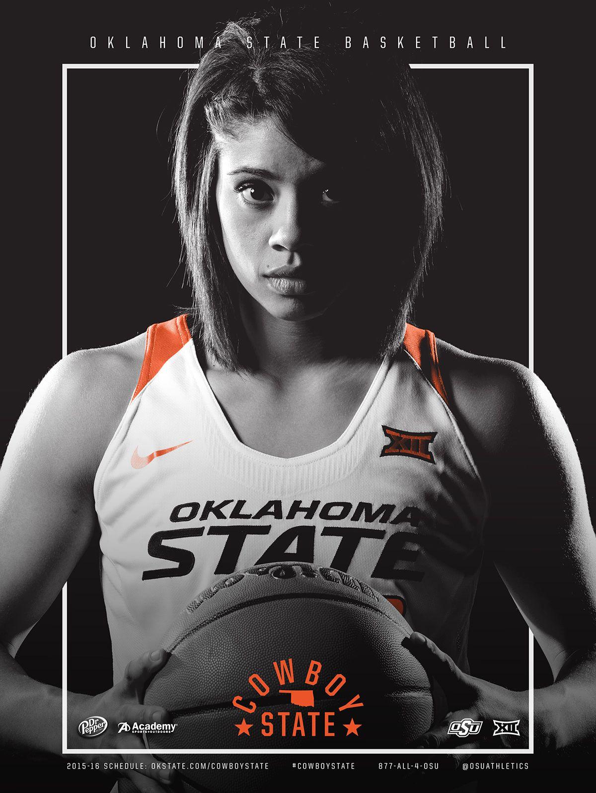 201516 Oklahoma State Women's Basketball Poster on