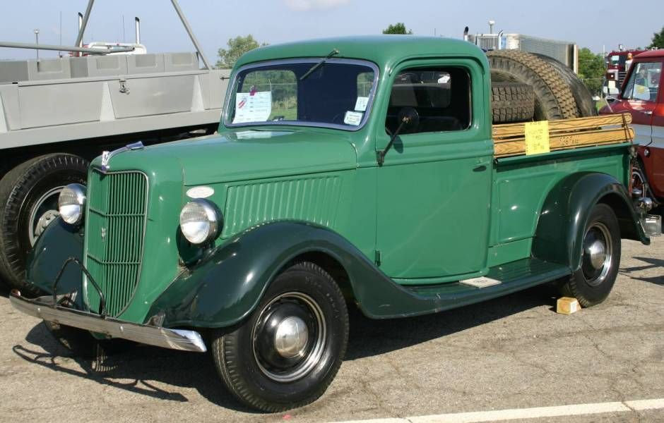 1936 Ford Pickup Maintenance of old vehicles: the material for new ...