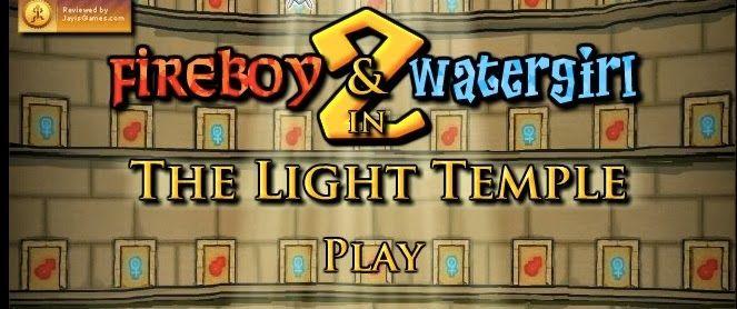 Los Juegos Friv De Agua Y Fuego O Fireboy Y Watergirl Juegos Friv