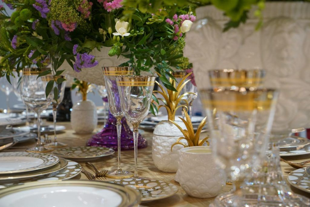 Spring Summer Table Centerpieces