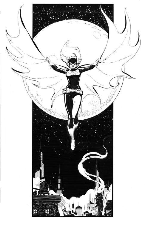Batgirl by Paul Smith.
