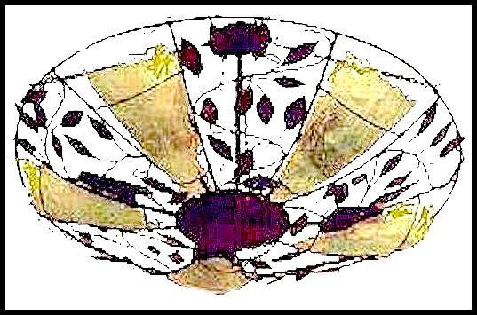 Rosette chandelier...