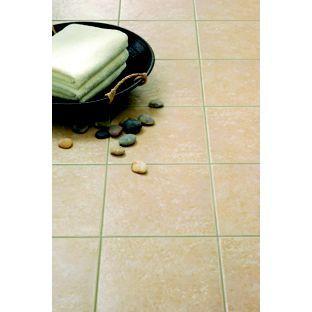Kitchen Tiles Homebase montana floor tiles - beige - 330 x 330mm - 9 pack from homebase