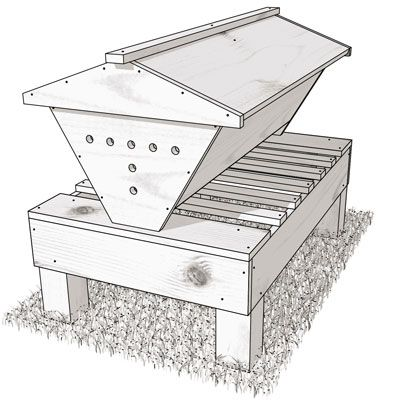 The Kenya Topbar Hive: How To Build Your Own | Top bar bee ...
