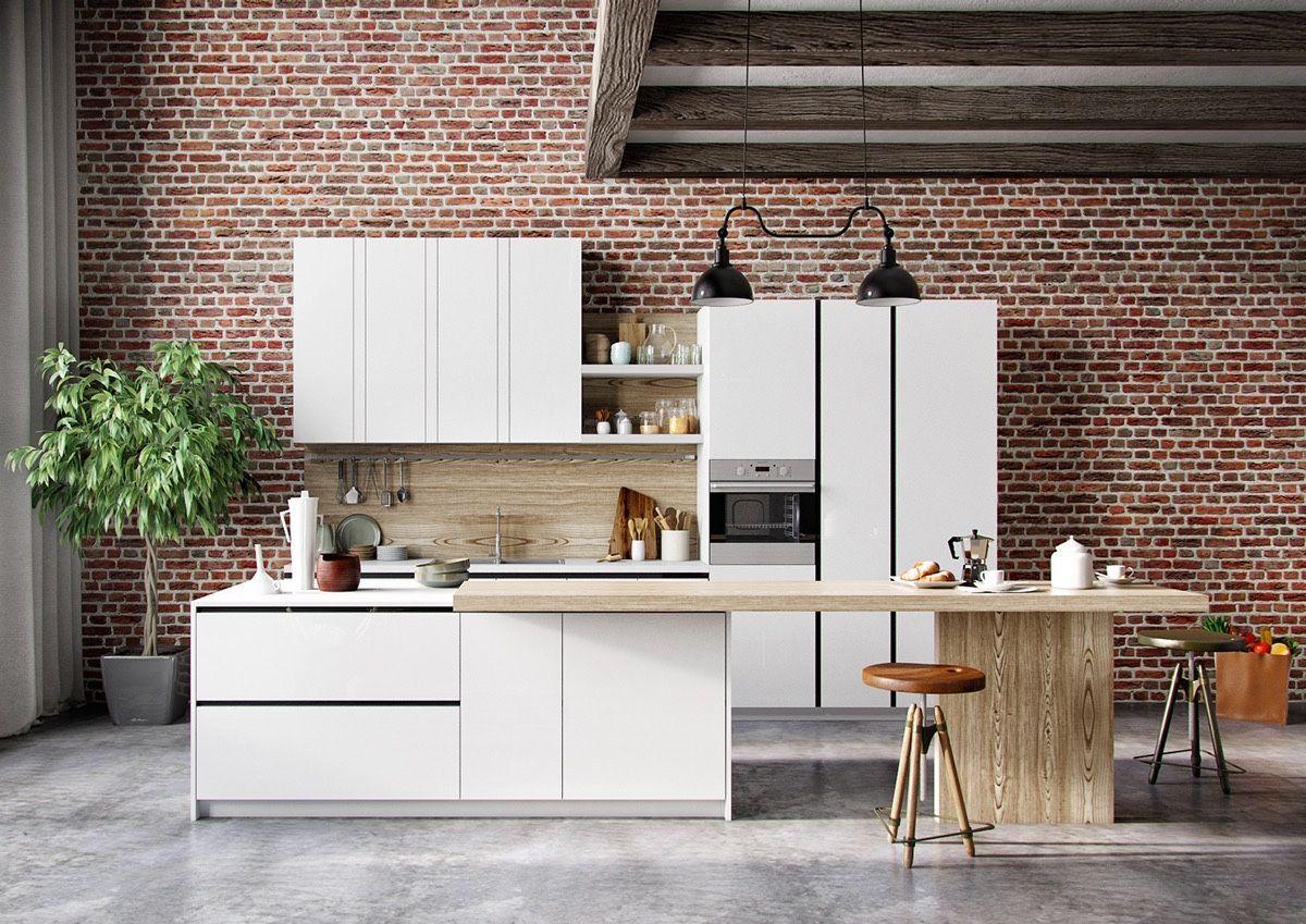 50 Modern Kitchen Designs That Use Unconventional Geometry Modern Kitchen Design Modern Kitchen Modern Kitchen Cabinets