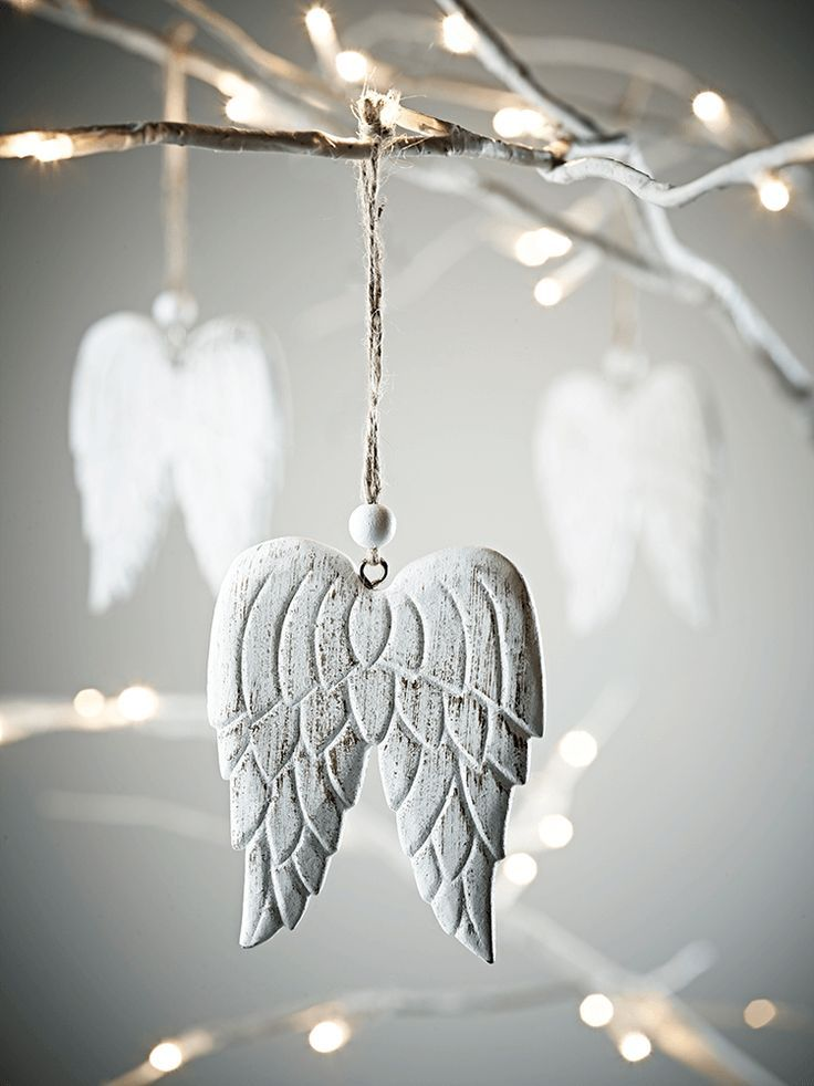 Angel wings made from wood and