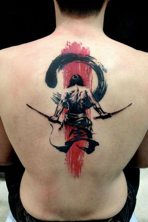 Japanese Tattoo #tattooideaslive #japanese #back #tattoos