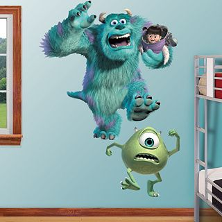Monsters Inc Mike Sully Boo Huge