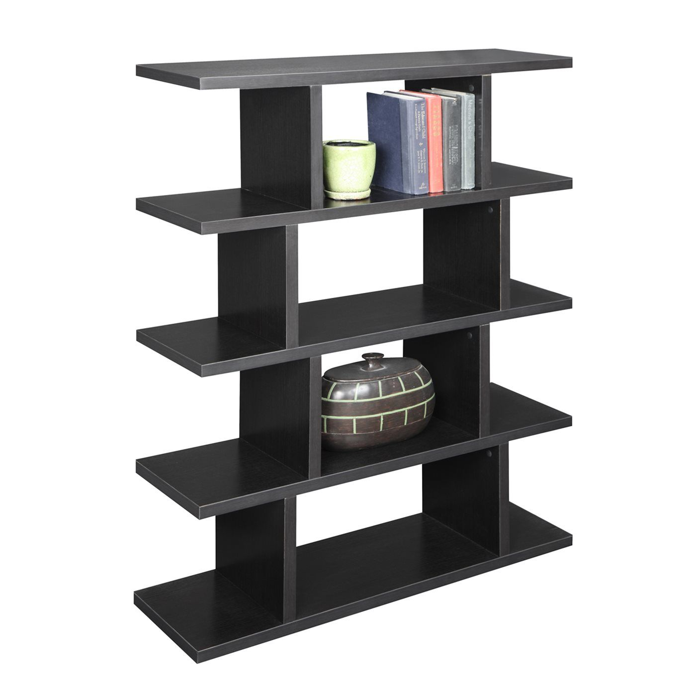Convenience Concepts 121015 Northfield Block Bookshelf at