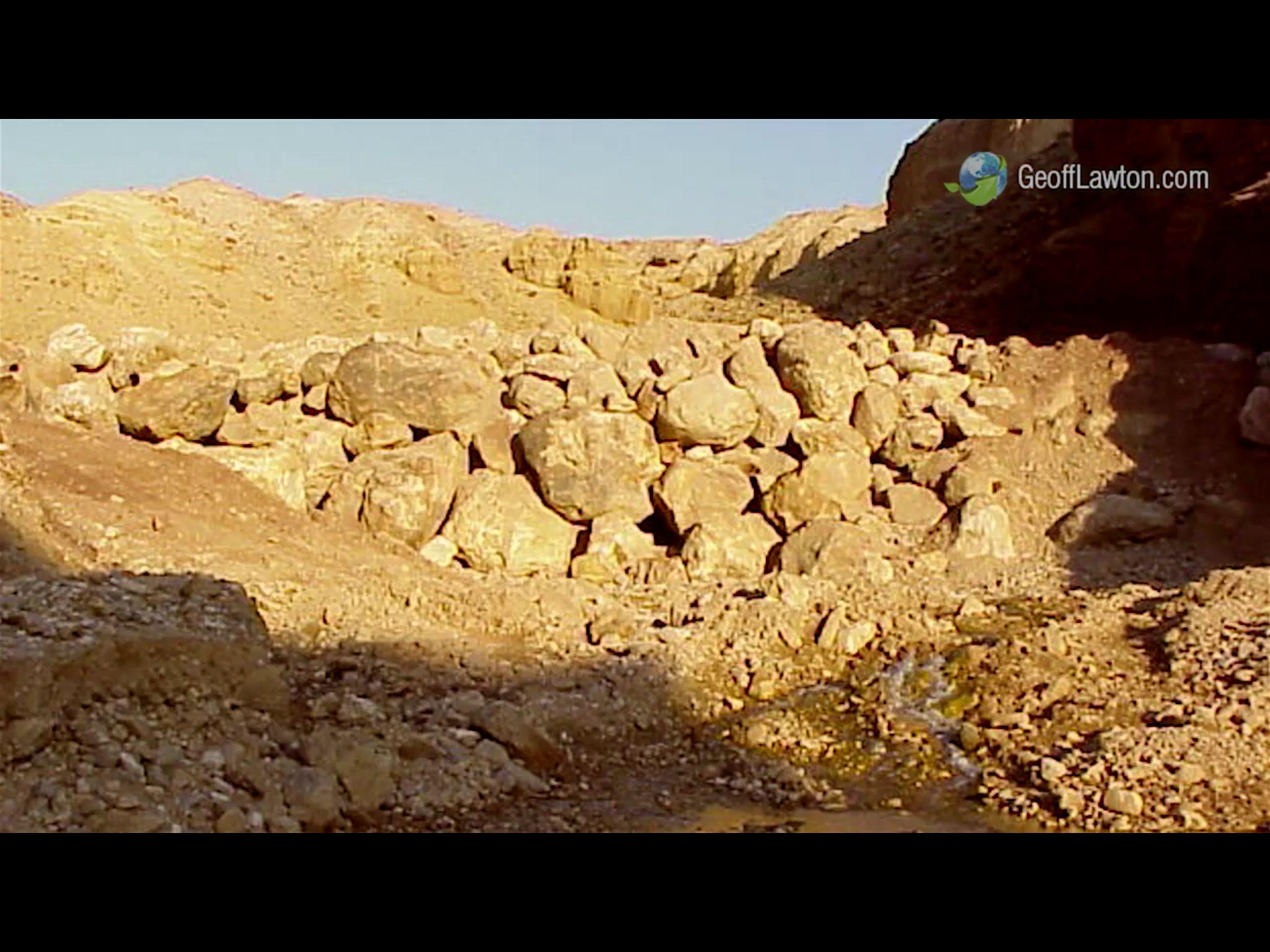 Desert rock wall gabion. Permaculture | Permaculture | Pinterest ...