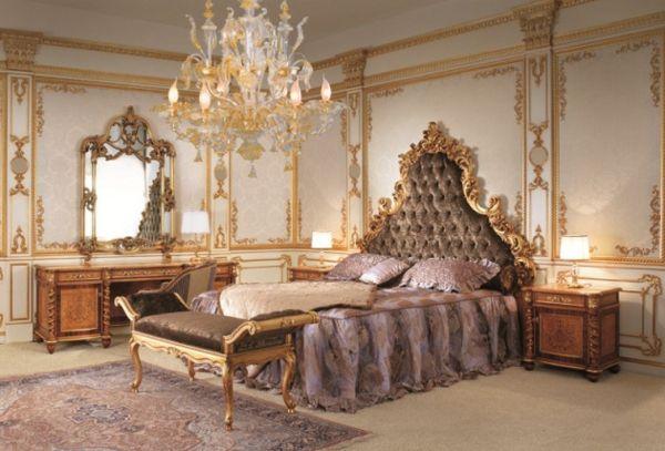 Barock Schlafzimmer Einrichtung – wie die Adligen schlafen ...