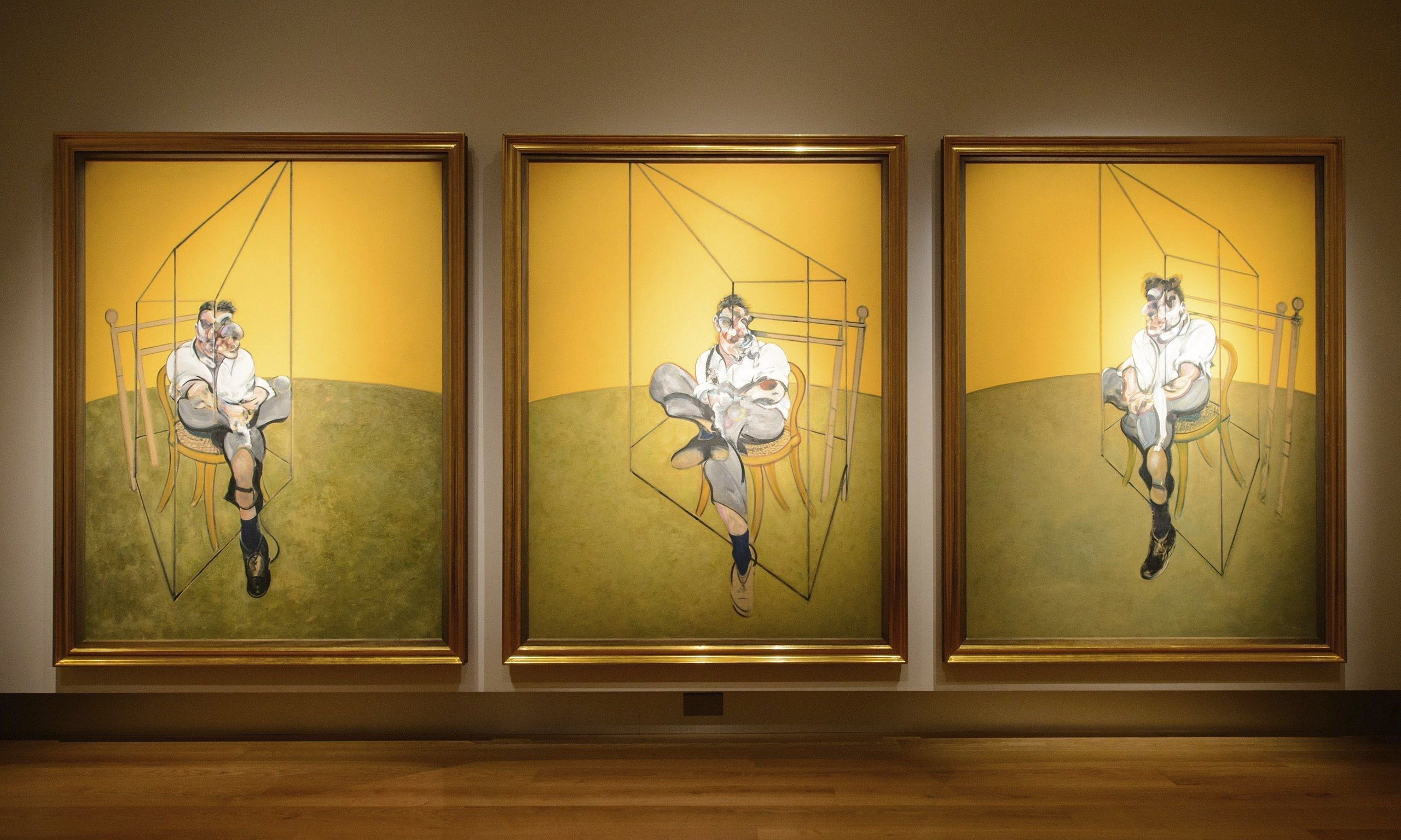 Francis Bacon\'s painting of Lucian Freud is a portrait of two ...