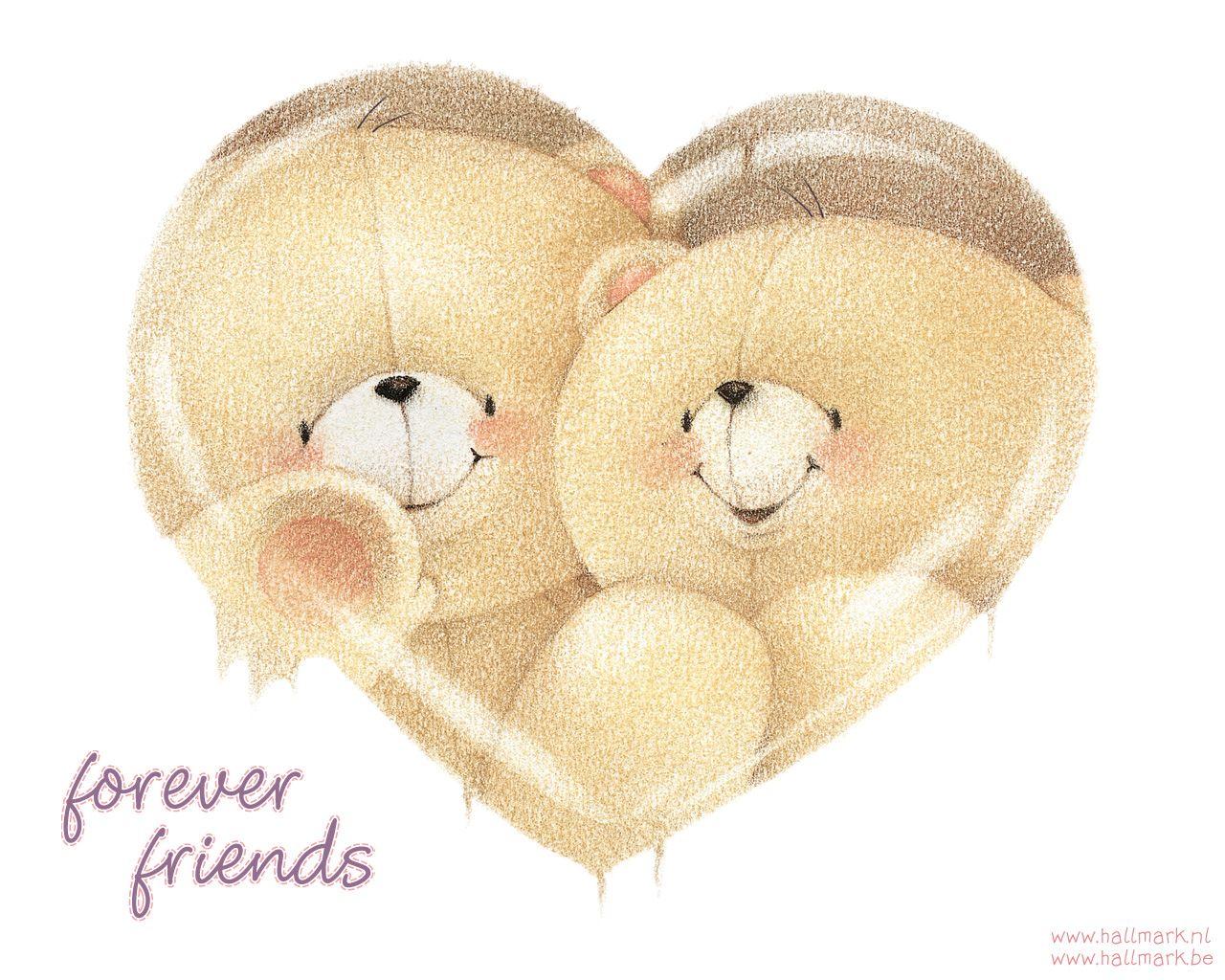 Pin Van Paula Prasetya Op Forever Friends Beertjes Retro Kinderen Vriendschapskaarten