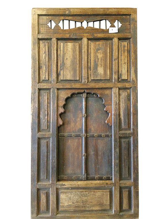 Vintage Rustic jharokha Windows // Antique Gujrati by MOGULGALLERY ...