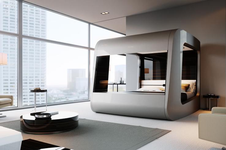 Hican The World S Smart Bed Chambre Futuriste Deco Maison