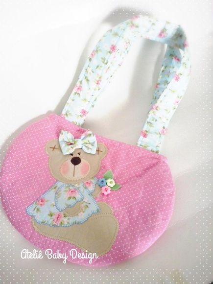 b966467ee4 bolsa infantil ursa   bolsos   Fabric bags, Handmade bags y Purses, bags