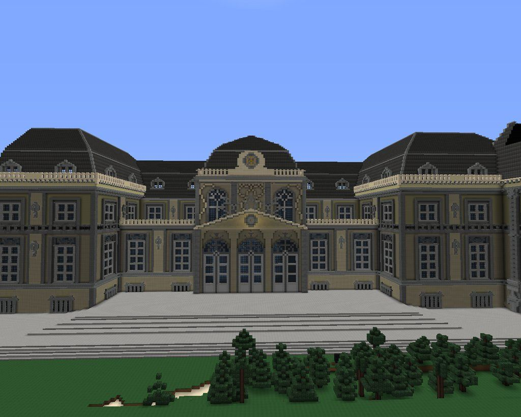 Louvre Mansion Minecraft World Save