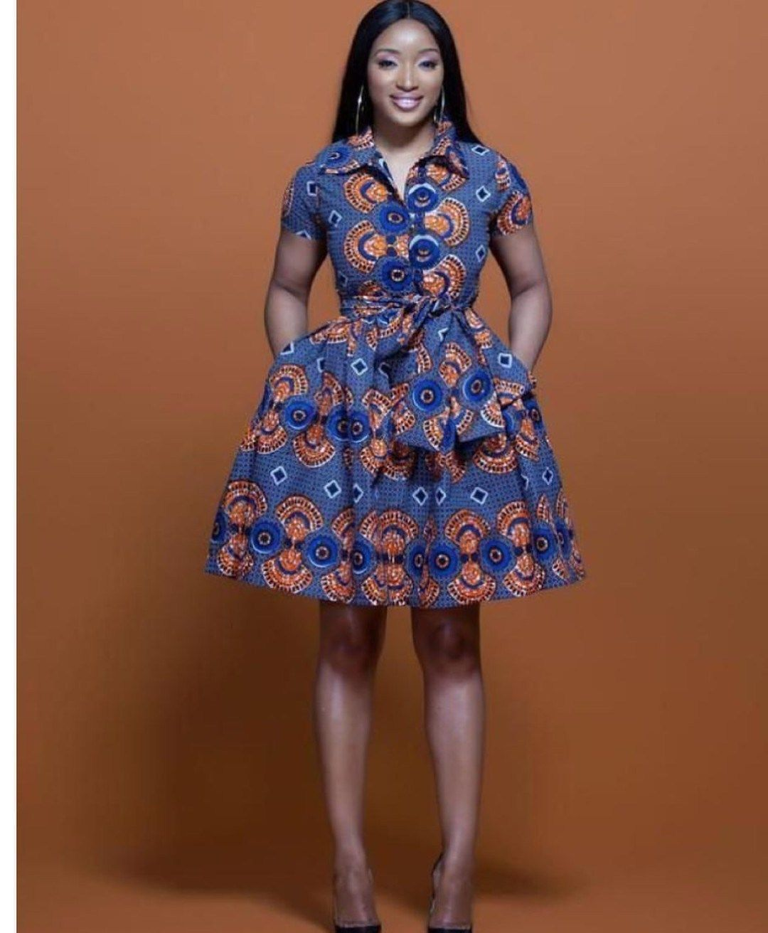 ANKARA GOWN MIDI DRESS 2019 FABULOUS FASHION , Pretty 4