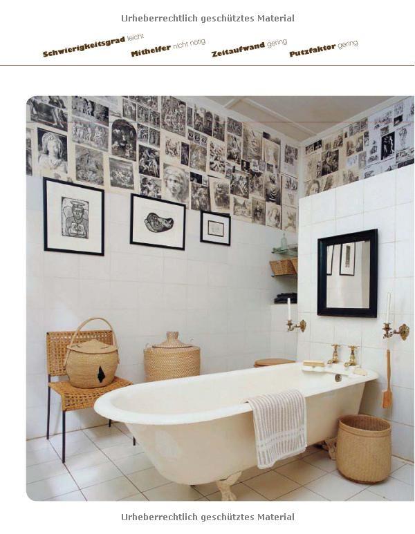 kreative wohnideen einfach selbst gemacht b cher interior bath pinterest. Black Bedroom Furniture Sets. Home Design Ideas
