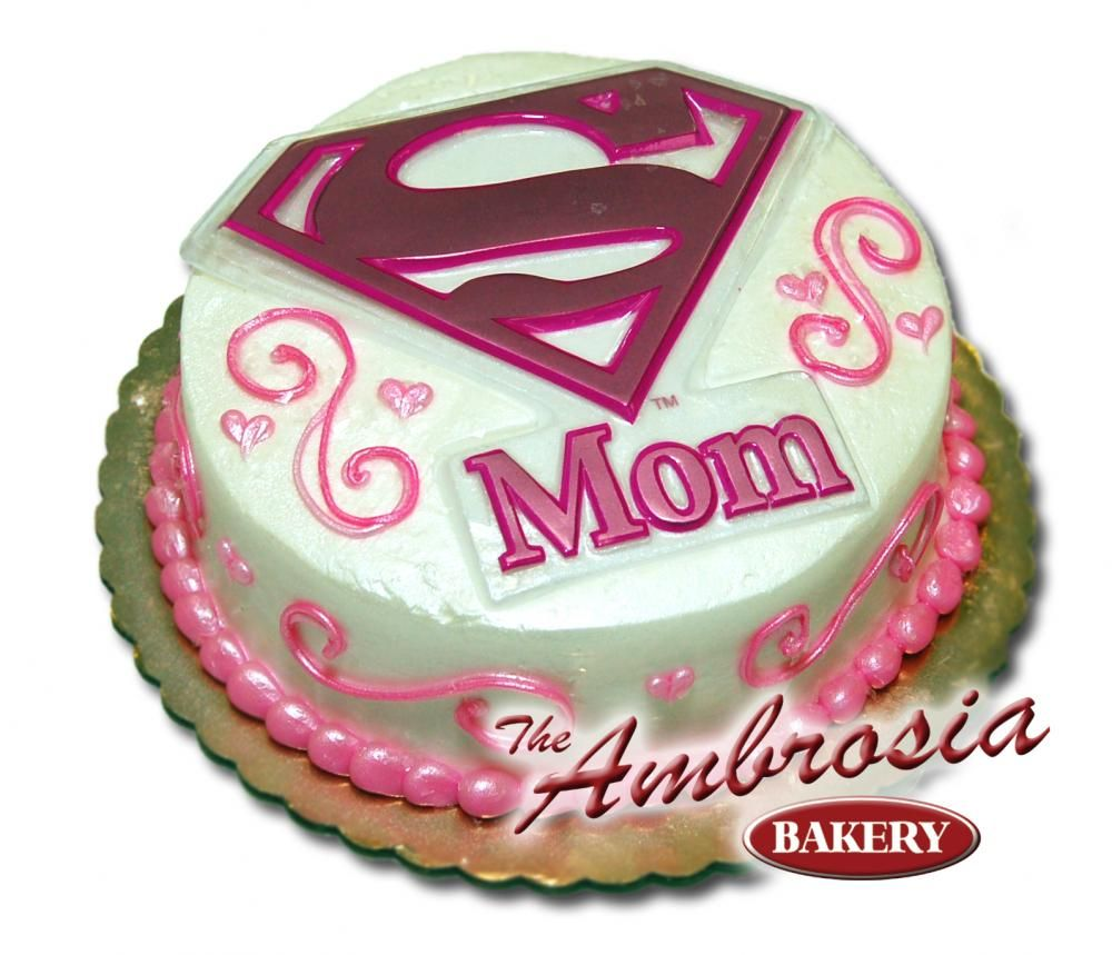 mommy birthday cakes Mom know how Super she is with this Super