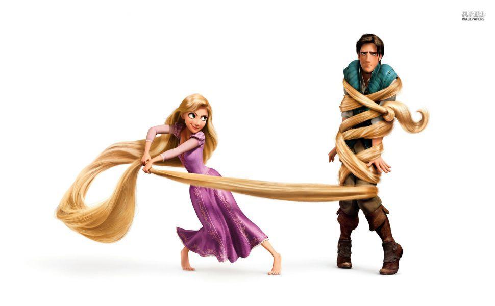 Rapunzel And Flynn Rider HD Wallpaper