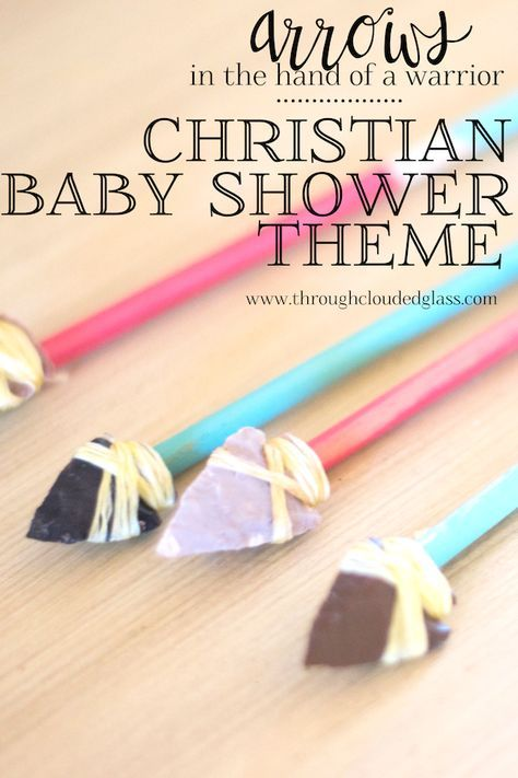 Christian Baby Shower Theme Ideas Through Clouded Glass Baby